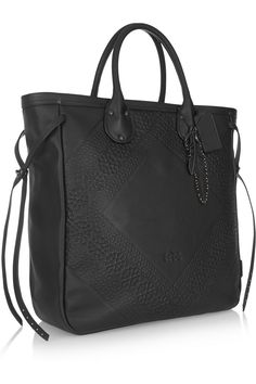 Coach | Tooling Tatum embossed leather tote | NET-A-PORTER.COM