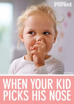 Kids and nose-picking: Why it's actually totally normal