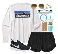"""Patagonia"" by lauren-hailey ❤ liked on Polyvore"