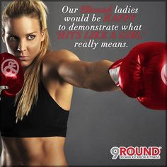 9Round ladies, any comments?   9Round in Northville, MI is a 30 minute full body workout with no class times and a trainer with you every step of the way! Visit www.9round.com/fitness/Northville-Michigan or call (734) 420-4909 if you want to learn more!