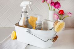 Getting the toughest room out the way first will help jumpstart the rest of your housekeeping responsibilities.