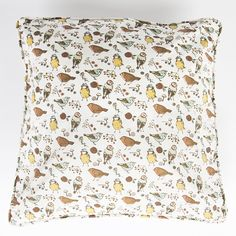 A fabulous print features illustrated British birds, in three different native species. £15