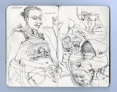 james jean's sketchbook