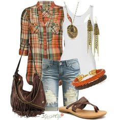 Gone country fashion fashion, country outfits и clothes Country Outfits, Casual Outfits, Cute Outfits, Country Fashion, Country Style, Capri Outfits, Girl Outfits, Look Fashion, Fashion Outfits
