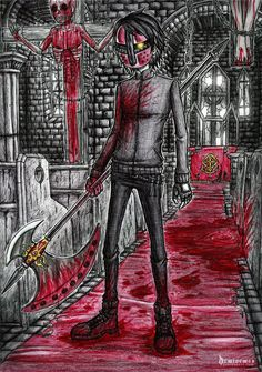 Comm: Christoper the Crucifier by DemiseMAN on DeviantArt
