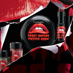 Who Knew the Time Warp Could Be So Chic? See MAC's Rocky Horror Makeup Collection #InStyle