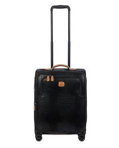 Brics My Safari 21 Expandable Carry-On Spinner Brics, Regions Of Italy, Carry On Luggage, Cotton Canvas, Safari, 21st, Leather, Hand Bags