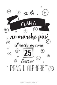Positive Attitude, Positive Vibes, Words Quotes, Sayings, Alphabet, French Quotes, Lettering, Positive Affirmations, Planer