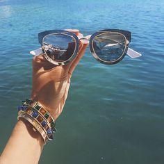 aimee song of style dior chromic sunglasses