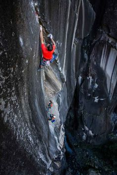 Climbing offers superb challenges - Image from Grimper Magazine