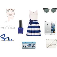 """Summer"" by alinebrehier on Polyvore"