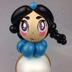 Balloon art, amazing, cool, party, splendid balloons, John Justice, cute, adorable Party ideas, Jasmine, headband