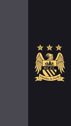 MCFC away wallpaper black/gold #manchester #city