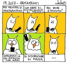 FULVO IL LUPO & Co. - La società animale: 19.2017 - ARMAMENTI