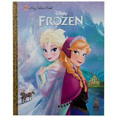 Disney's Frozen Big Gold Book FREE after Cash Back! (reg $10)
