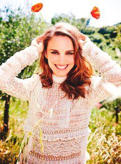 Natalie Portman, photogrpahed by Ellen von Unwerth for Marie Claire UK, Sep 2015.