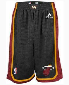 d26f5a29ffc1 adidas Revolution 30 Miami HEAT Adult Swingman Shorts Black