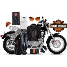 Yes...I'll take the whole package!! Harley-Davidson Girls | Harley-Girl