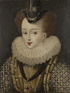 Catherine de Lorraine,Duchesse de Joyeuse,16th c. France