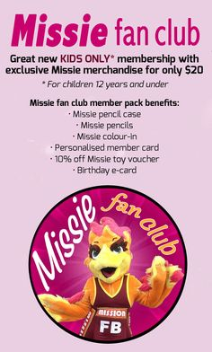A look at the QLD Firebirds/QLD Netball fan club member packs for fans.