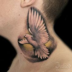 225 Best Neck Tattoos Images Throat Tattoo 3d Tattoos Awesome