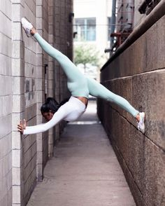 Rebekah Letchumanan is featured in  Waist Airbrush Legging and Amelia Long Sleeve Crop #yoga #inspiration #flexibility