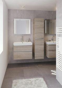Bathroom design beige cabinets New ideas Beige Bathroom, Bathroom Spa, Grey Bathrooms, Bathroom Wall Decor, Bathroom Colors, Bathroom Flooring, Modern Bathroom, Small Bathroom, Baño Color Beige