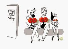 Ma collab : Marlotte x Adolie Day - Marlotte Oprah Winfrey, Design Textile, Photo Illustration, Art Illustrations, Fashion Illustrations, Pin Up Art, Art Techniques, Wallpaper Quotes, Handicraft