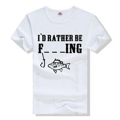 I'D RATHER BE F_ _ _ING - T-Shirt