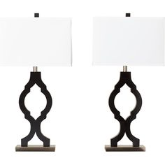 Bring a touch of Moroccan flair to your space. Trellis-style base supports pristine white shade, creating a nice contrast of light and dark. Lamp is right at home among contemporary decor.