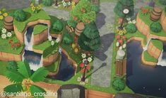 Animal Crossing Funny, Animal Crossing Wild World, Animal Crossing Guide, Animal Crossing Villagers, Animal Crossing Pocket Camp, Island Theme, Motifs Animal, Forest Design, Forest Theme