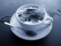 Immagine di cup, ocean, and blue