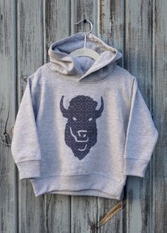 8d4de414d7b State Pride Buffalo Hoodie Fleece Hoodie