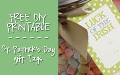 Free Printable St. Patrick's Day Gift Tags