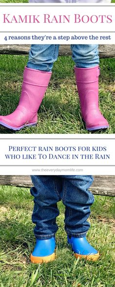 4 Ways Kamik Rain Boots Are A Step Above The Rest. These boots provide quality and are affordable for kids that just want to have fun in the rain. AD