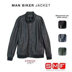 Must Have > > SMF Shop Online! > > Man Biker Jacket Shop Here: http://www.smf-jeans.com/homem/casacos/blus-o