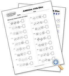 math worksheet : visual addition  worksheetworks large family homeschool  : Visual Addition Worksheets