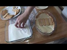 Receita de pavê simples - YouTube Your Recipe, Recipe Box, Kitchen Recipes, Icing, Ice Cream, Sweets, Health, Desserts, Food