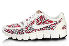 Nike Liberty Print Sneaker $145.64, available at Liberty London.  cute...different...