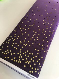 Fabric Shoppe is happy to carry the entire line of Vanessa Christensons Ombre Metallics by Moda fabrics! Beautiful ombre colors fade from dark to light to dark along the width of fabric. Gold metallic dots shimmer throughout. This will be an on going line that will be availble for a long