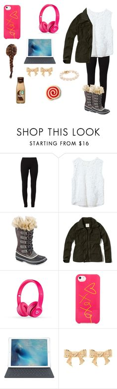 """""""No school tomorrow!!!"""" by sweettoothegj ❤ liked on Polyvore featuring Calando, Zara, SOREL, Abercrombie & Fitch, BaubleBar, Ted Baker, women's clothing, women's fashion, women and female"""