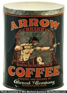 Arrow Coffeee Tin