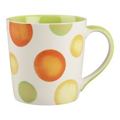 I love dots. I could see myself drinking coffee out of this.