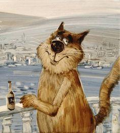 Коты и кошки Анатолия Ярышкина