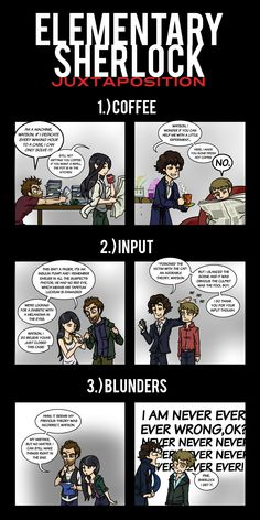 Why Sherlock is better than Elementary.