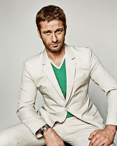 Gerard Butler by Danil Golovkin for GQ Russia