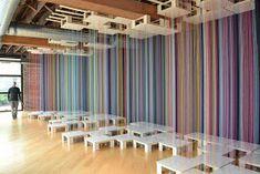Sweet Spot - Installation by Shawn Causey and Mark Daniell Macrame Thread, Micro Macrame, Mala Bracelet Diy, Bead Crochet, Sweet, Google, Inspiration, Image, Art