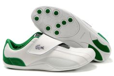 Green Velcro Lacoste Shoes ~ $68 #Christmas2012