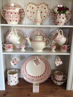 Emma Bridgewater Betty's Tea Rooms Baby Mugs Susie Watson, Birthday Presents For Her, Tea Places, Emma Bridgewater Pottery, Welsh Dresser, Shabby Chic Kitchen, Valentine Decorations, Dinnerware, Tea Pots