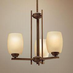 """$196 Kichler Sabina Collection Three Light Chandelier  18.5"""" wide x 19.5"""" high"""